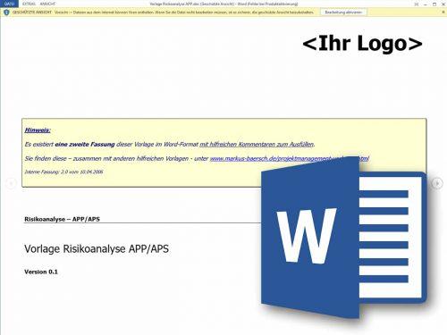 Risikoanalyse – Projektmanagement Freeware